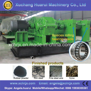 Full Automatic Waste Tire Recycling Rubber Powder Making Machine / Tyre Rubber Crumb Production Line pictures & photos