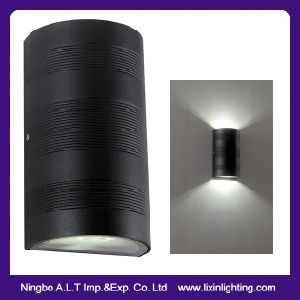 IP54 LED Wall Light with up & Down Light Ripple Surface pictures & photos