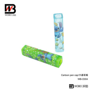 2016 New Cartoon School Pen Cap for Stationery