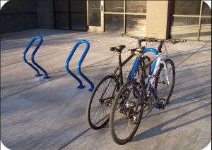 Outdoor Steel Big Wave Bike Racks pictures & photos