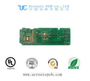 High Quality PCB for CCTV Camera with Green Solder Mask pictures & photos