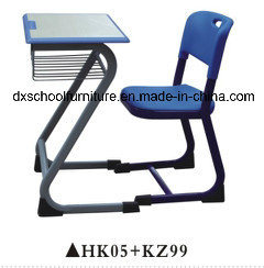 Popular Plastic Desk School Furniture with Drawer pictures & photos