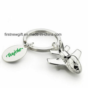 Hot Sale Cheap Print Logo Metal Keyring Promotion Gift (F1068) pictures & photos