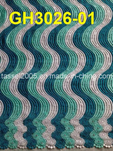 Latest Multi Color Cord Lace (GH3026-01) pictures & photos