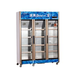 826L Vertical up Unit Opening Multi-Door Display Refrigerator pictures & photos