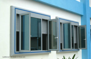 Hurricane and Fire Proof Aluminium Rolling Window Shutters pictures & photos