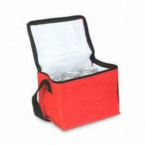 Reusable Non-Woven Insulated Ice Picnic Lunch Cooler Bag (LJ-367)