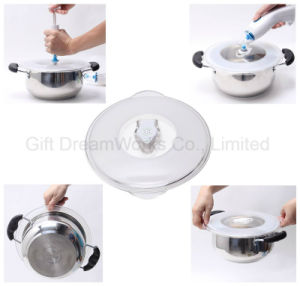 """Universal Vacuum Food Saver Container Lids, Air-Tight Food Sealer Lids Covers for 3.0"""" to 9.4"""" Diameter Containers pictures & photos"""