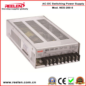 5V 40A 200W Switching Power Supply CE RoHS Certification Nes-200-5 pictures & photos