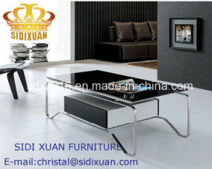 Living Room Furniture Stainless Steel Frame Coffee Table pictures & photos