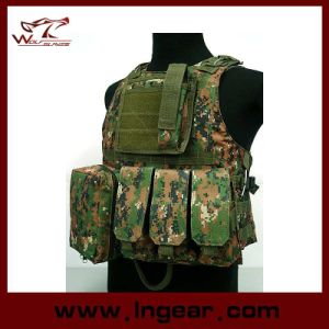 Tactical Molle Combat Assault Vest Amphibious Vest pictures & photos