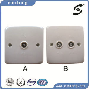 Aluminum Multimedia Panel Wall Socket pictures & photos
