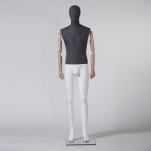 Latest Fabric Wrapped Male Mannequin for Window Display pictures & photos