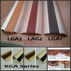 Kga Series Rubber Decorative Slip-Proof and Nail-Hidden Alu Flooring Profiles pictures & photos