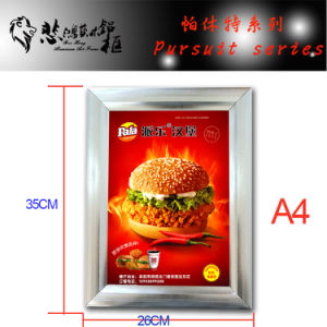 Customized Aluminum Snap Photo Frame Picture Frame pictures & photos
