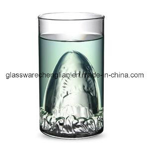 High Borosilicate Double Wall Glass Cup with Great Design (B-DBW20) pictures & photos