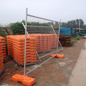 High Quality Hot DIP Galvanized Mobile Fence (Galvanized after Welding) pictures & photos