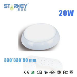 20W IP65 Microwave Emergency LED Bulkhead