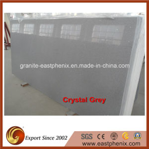 Engineered Artificial Crystal Grey Slab for Wall Cladding pictures & photos
