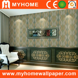 Interior 3D PVC Vinyl Wallpaper for Office pictures & photos