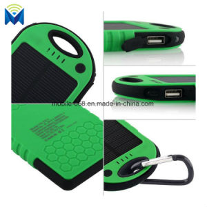 Portable Waterproof Solar Charger Dual USB External Battery Power Bank pictures & photos