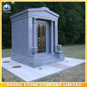 Factory Direct Funeral Granite Family Mausoleum pictures & photos