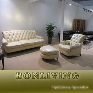 Chesterfield Leather Sofa Furniture (CB325) pictures & photos