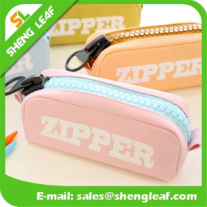 Wholesale Printing Logo Pen Bag with Zipper Different Colors (SLF-PB008) pictures & photos