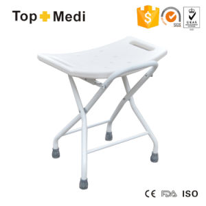 Topmedi Folding Heavey Duty Bath Shower Chair Bathroom Seat Stool pictures & photos