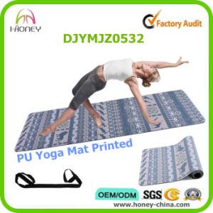 Slip Free PU Yoga Mat, Full Color Digital Printed, Custom Label pictures & photos