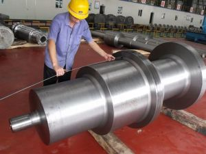 Mine Hoist Forged Shaft Certified by BV, SGS, ISO9001: 2008 pictures & photos
