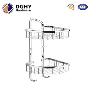 Customized 304 Stainless Steel 2 Layer Utensil Stamping Kitchen Rack pictures & photos