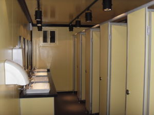 China 20 Feet Prefabricated Modular Sanitary Container For