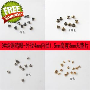 9# 1.5mm Wholesale High Quality Rounded Edges Eyelets pictures & photos