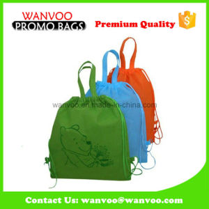 Promotional Non Woven Backpack Students School Bag pictures & photos