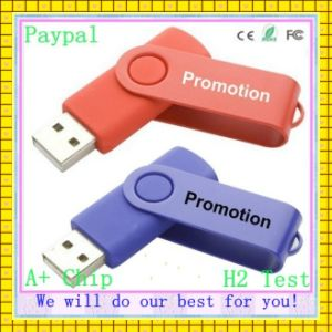 Full Capacity 256GB Swivel Flash Drive (GC-674) pictures & photos
