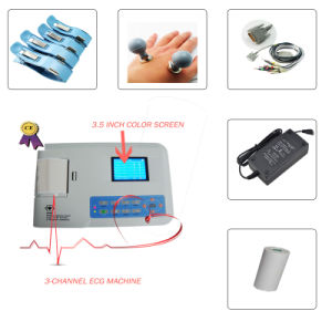 Digital 3-Channel Color ECG (EKG-903B) -Fanny pictures & photos