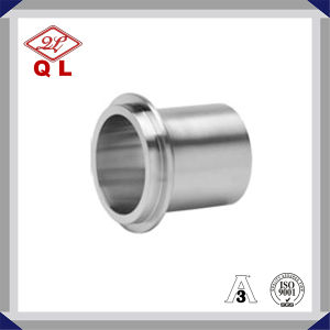 3A Sanitary Stainless Steel Weld X Male NPT Adapter 19wb pictures & photos