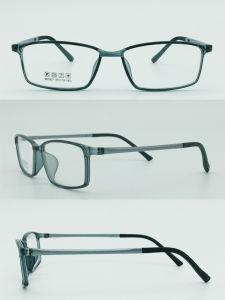 Factory Stock Super Light Half Plastic Steel Fashion New Design Optical Frames Glasses pictures & photos