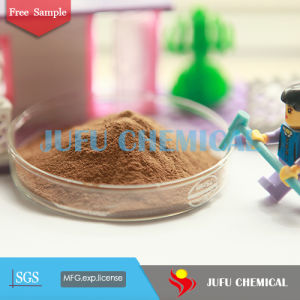 Yellow Brown Dust Suppression Feed Binder of Calcium Lignosulphonate CF-5 pictures & photos