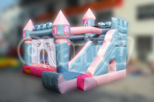 Princess Bouncy Castle Inflatable Jumping Bouncer for Girls Birhday Parties (QB085) pictures & photos