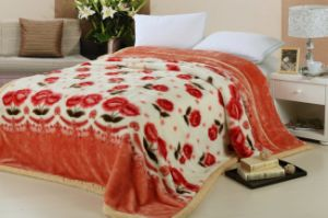 100% Polyester Printed and Soft Coral Velvet Fleece Blanket pictures & photos