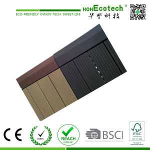 Interlocking China Supplier Wood Plastic Composite Decking Tiles pictures & photos