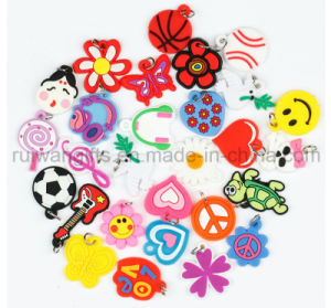 Wholesale Soft PVC Loom Band Charms for Bracelet Charms pictures & photos