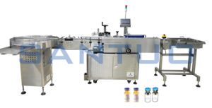 High Speed Vial Bottle Automatic Labeling System