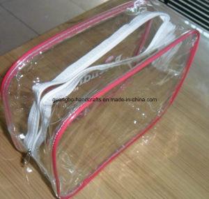 Custom Eco-Friendly Zipper Transparent PVC Bag pictures & photos