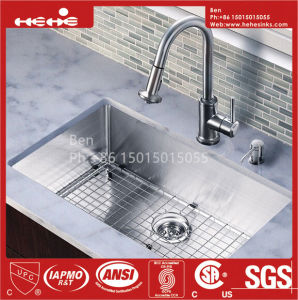 Stainless Steel Under Mount Handmade Single Bowl Sink pictures & photos