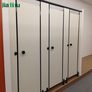 Customized Compact Laminate Toilet Cubicles for Public Place pictures & photos