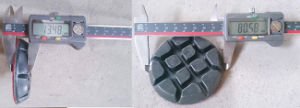 3 Inch Granite Polishing Pad Hard Diamond Polishing Pad pictures & photos