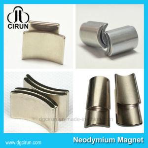 Customized Permanent Arc Shape Neodymium Motor Magnet